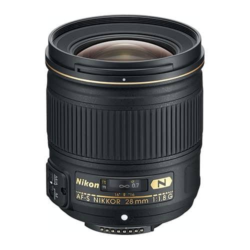 Nikon AF FX NIKKOR 28mm f/1.8 G