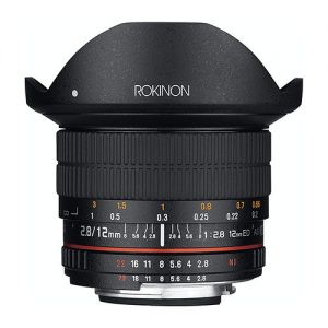 Rokinon 12mm F2.8 Ultra Wide Fisheye Lens