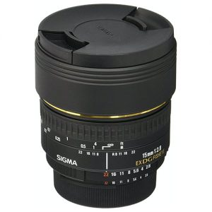 Sigma 15mm f/2.8 EX DG Diagonal Fisheye Lens