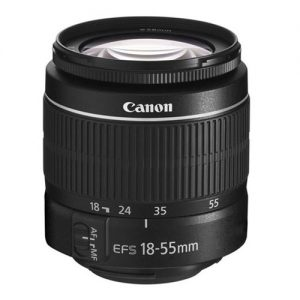 Canon EF-S 18-55mm f/3.5-5.6 III lens