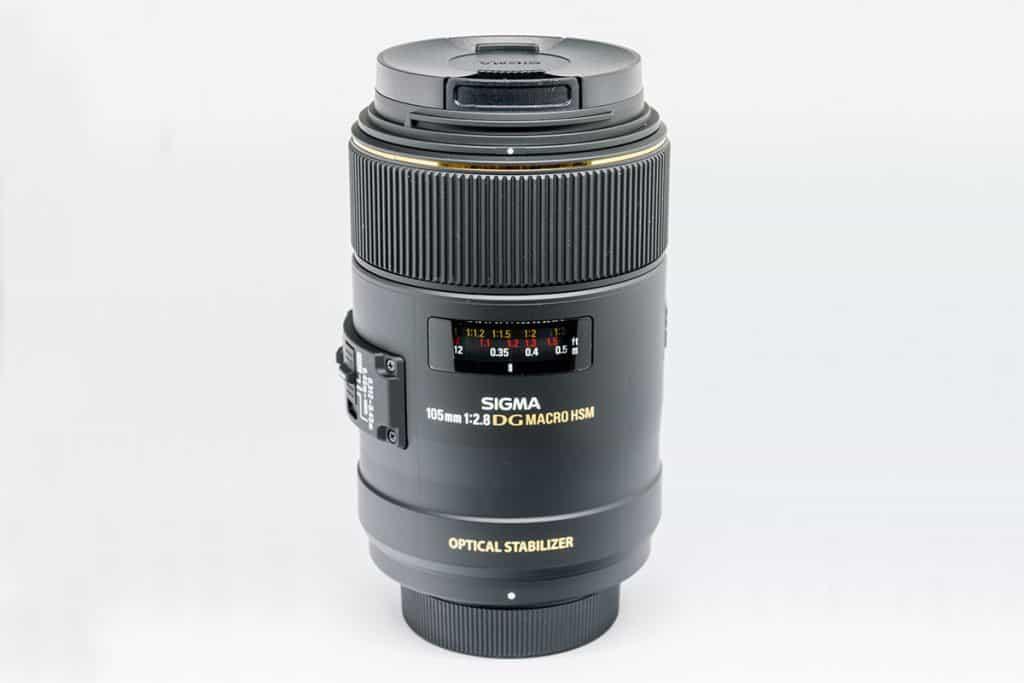 Sigma 258306 105mm F2.8 EX DG OS HSM Macro Lens for Nikon DSLR Cameras