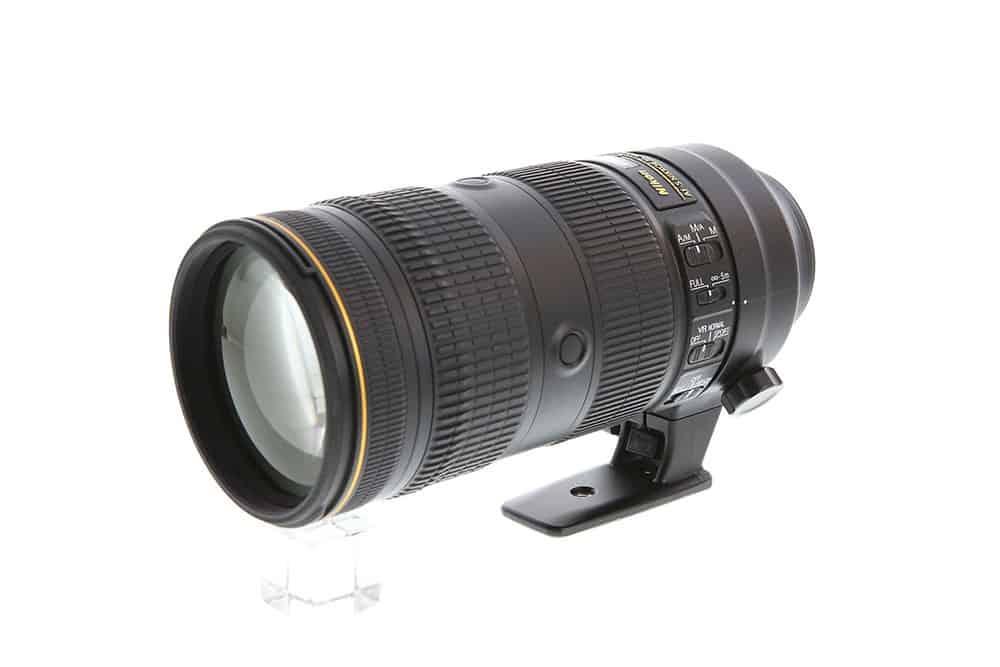 70-200 telephoto lens for nikon FX cameras