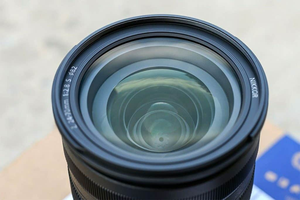 Nikon NIKKOR Z 24-70mm f/2.8 S closeup