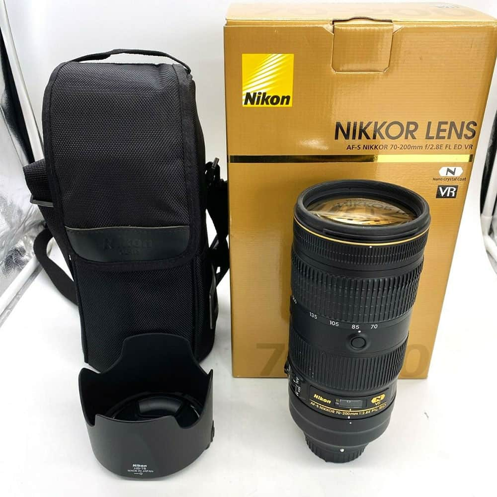 Nikon Nikkor AF-S 70-200mm f/2.8E FL ED VR