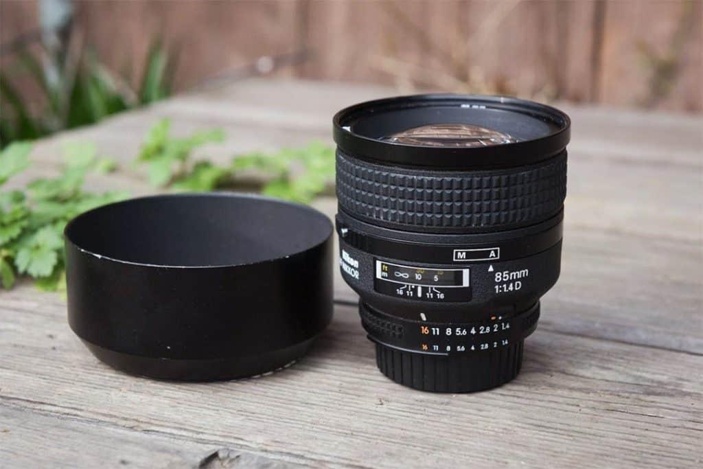 Nikon AF Nikkor 85mm F1.4D Prime FX Lens