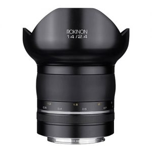 Rokinon SP14MAE-N Special Performance 14mm F/2.4 Ultra Wide Angle Lens