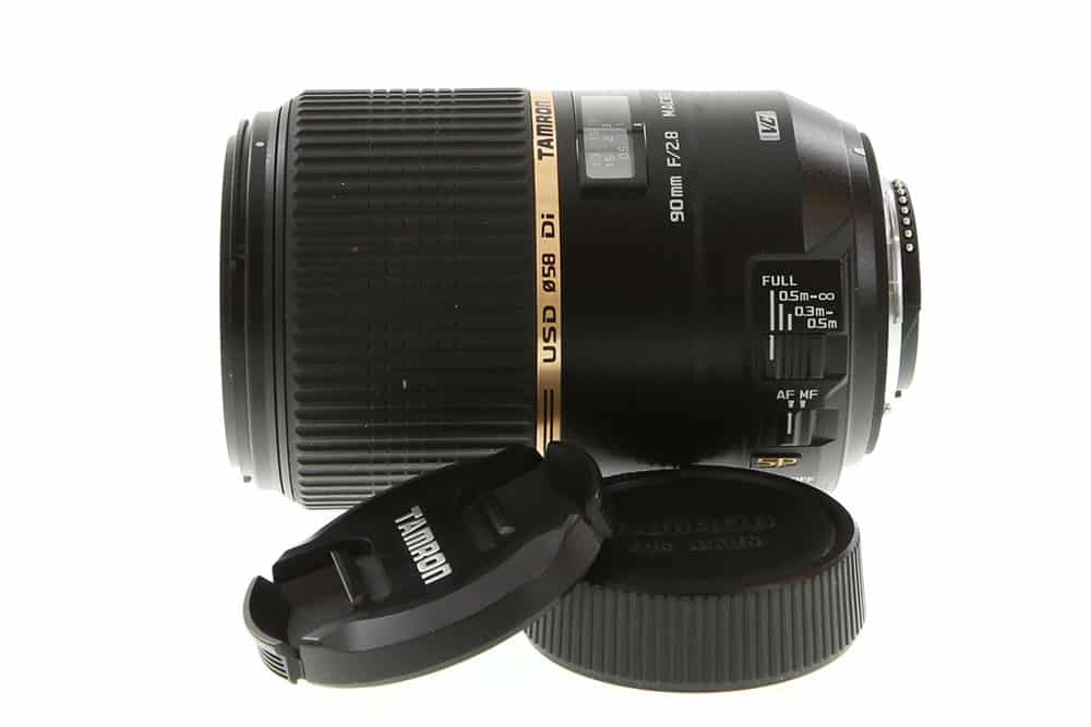 Tamron 90mm F/2.8 Macro DI SP VC USD 1:1