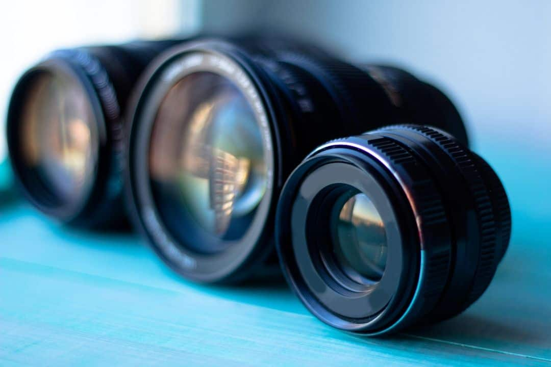 lenses with different focal length