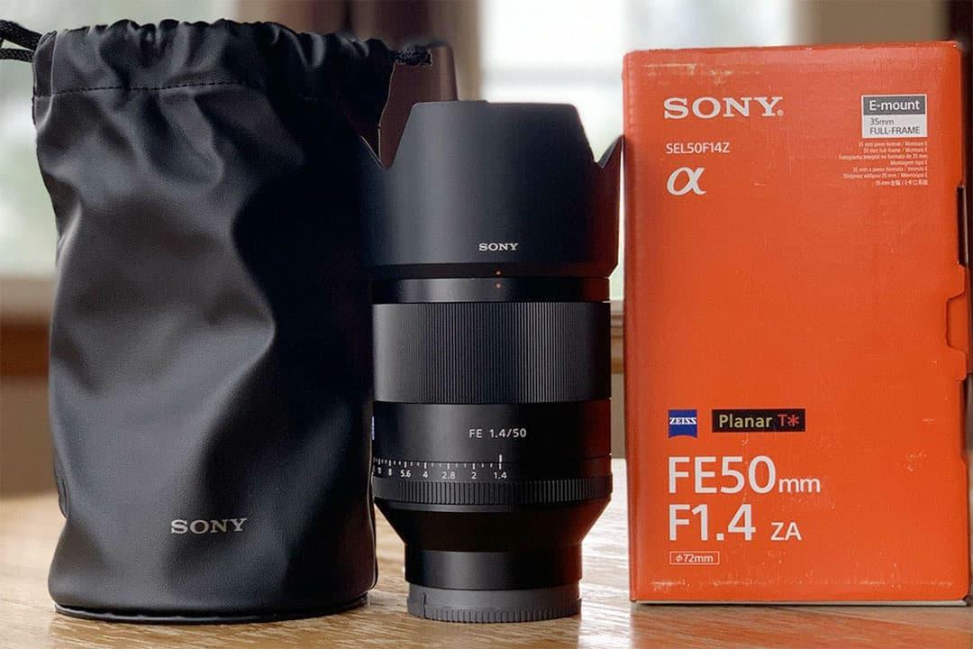 Sony fe 50mm 1.4 za lens
