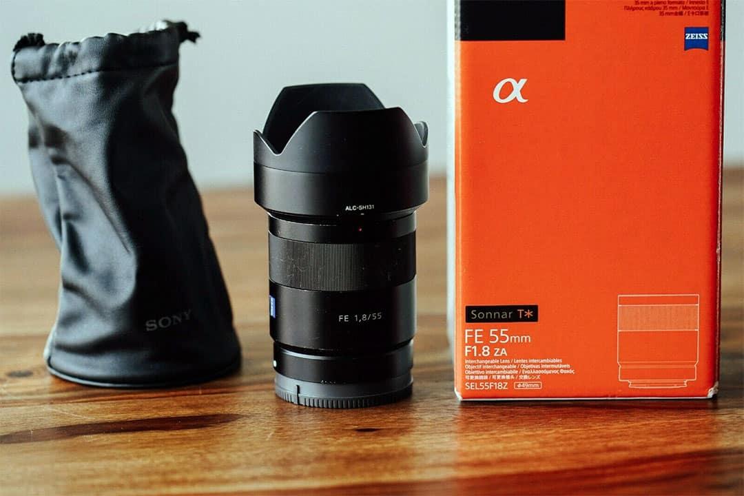 sony 55mm 1.8 lens
