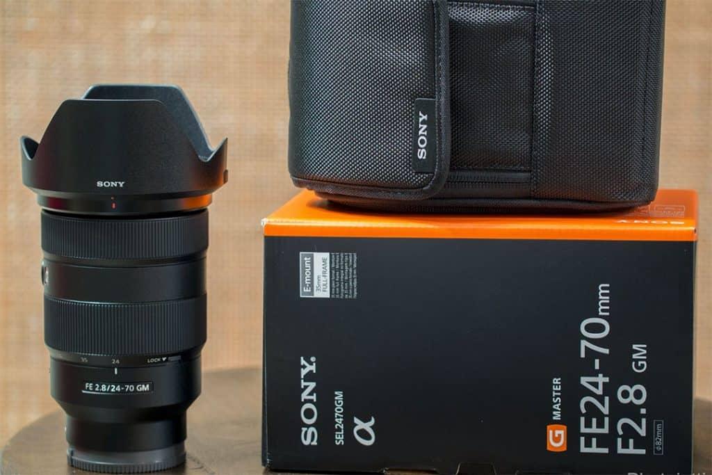 sony 24-70 GM Lens