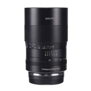 7artisans 60mm F2.8 APS-C Macro Lens for fuji cameras