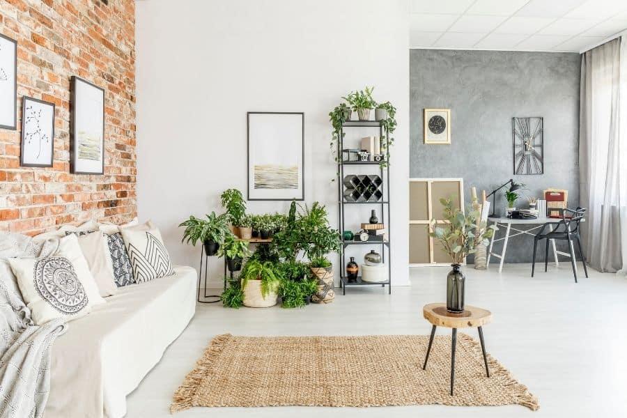 bright living room design