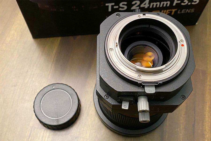 rokinon tilt shift lens for nikon fx