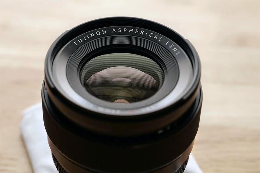 fuji 23mm aspherical lens