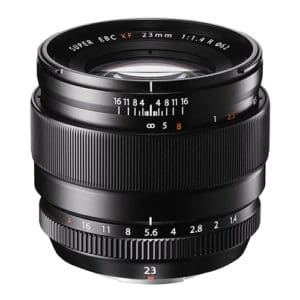Fujinon XF 23mm F1.4 R lens