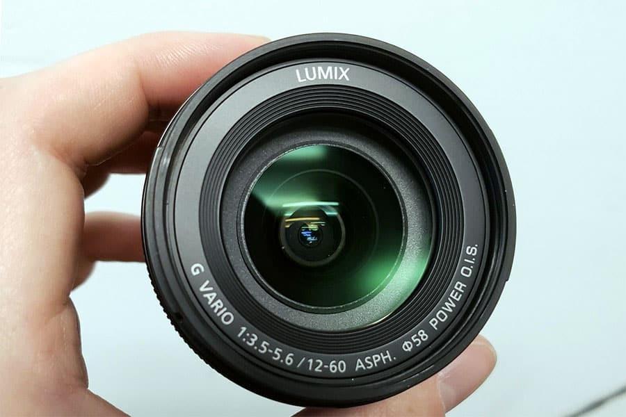 PANASONIC LUMIX G VARIO LENS, 12-60MM, F3.5-5.6 ASPHerical lens