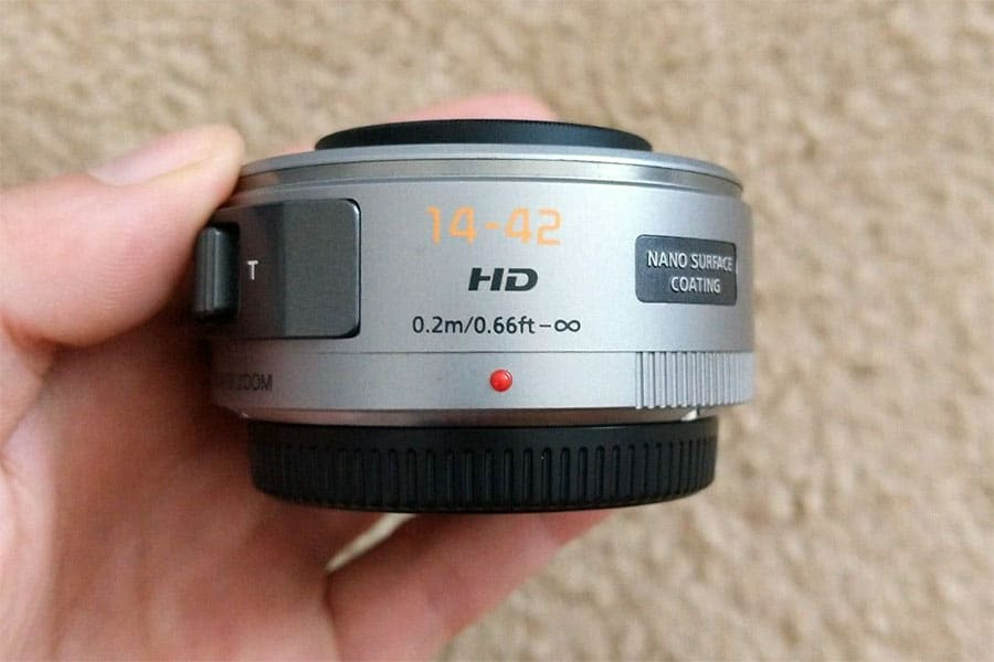 Panasonic H-PS14042-S LUMIX G X VARIO PZ 14-42mm/F3.5-5.6 ASPH./ POWER O.I.S. Lens
