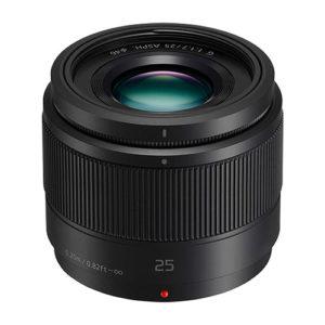 Panasonic LUMIX G Lens, 25mm, F1.7 ASPH
