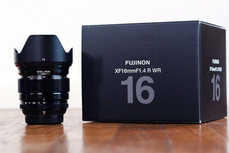 Fujinon xf 16mm f1.4 lens
