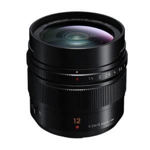 Panasonic LUMIX G Leica DG SUMMILUX Lens 12MM f1.4