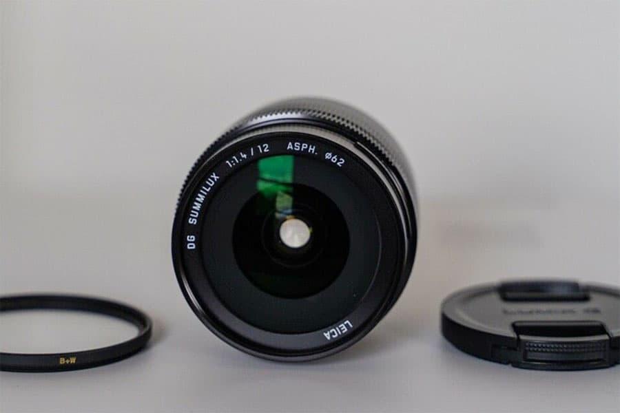 PANASONIC 12MM F/1.4 LEICA DG SUMMILUX lens