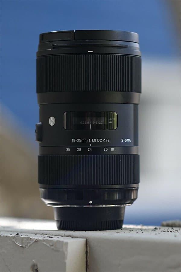 sigma 18-35mm f1.8 art lens