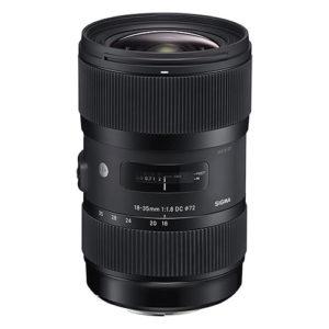 Sigma 18-35mm F1.8 Art DC HSM Lens