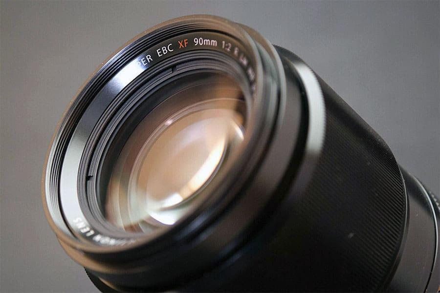 fuji xf 90mm f2 telephoto lens