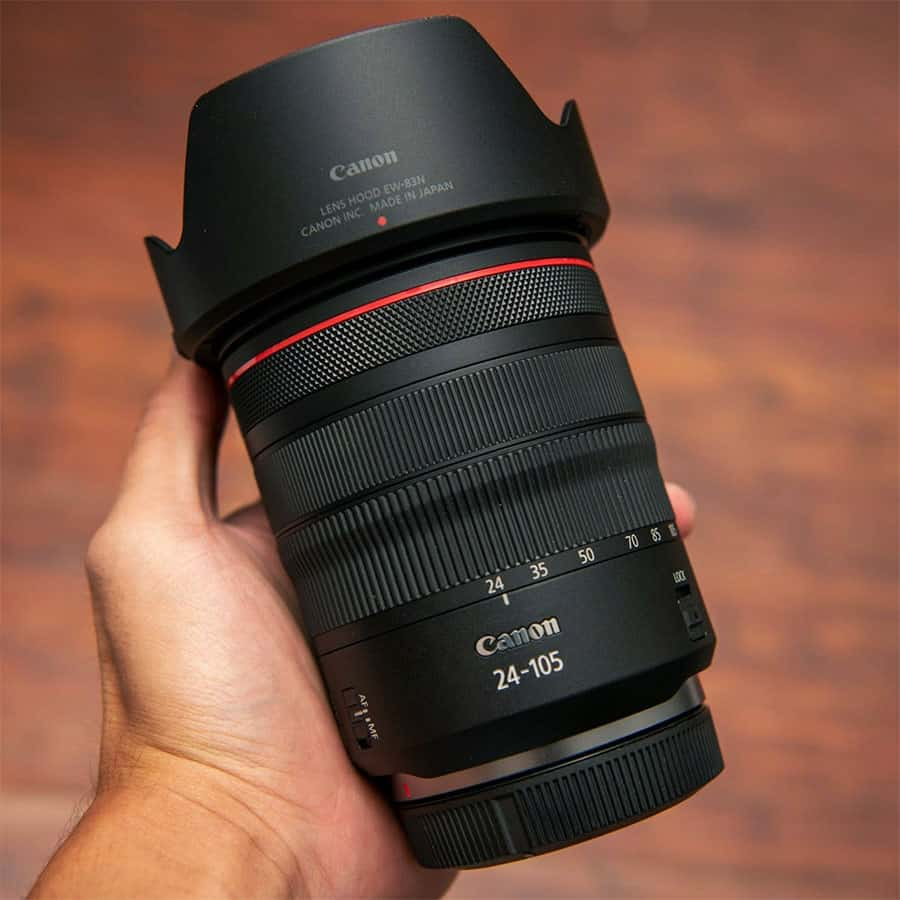 canon rf 24-105mm f4 constant aperture kit zoom lens