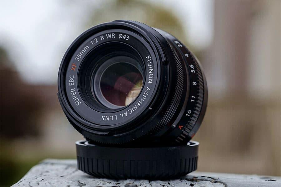 35mm fujinon f2 lens