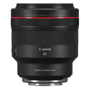 Canon RF 85mm f1.2 lens