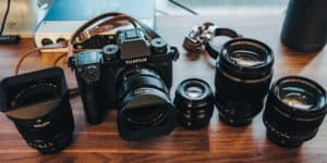 fuji camera and lenses