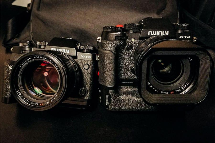 fuji xt2 & xt3 portait cameras