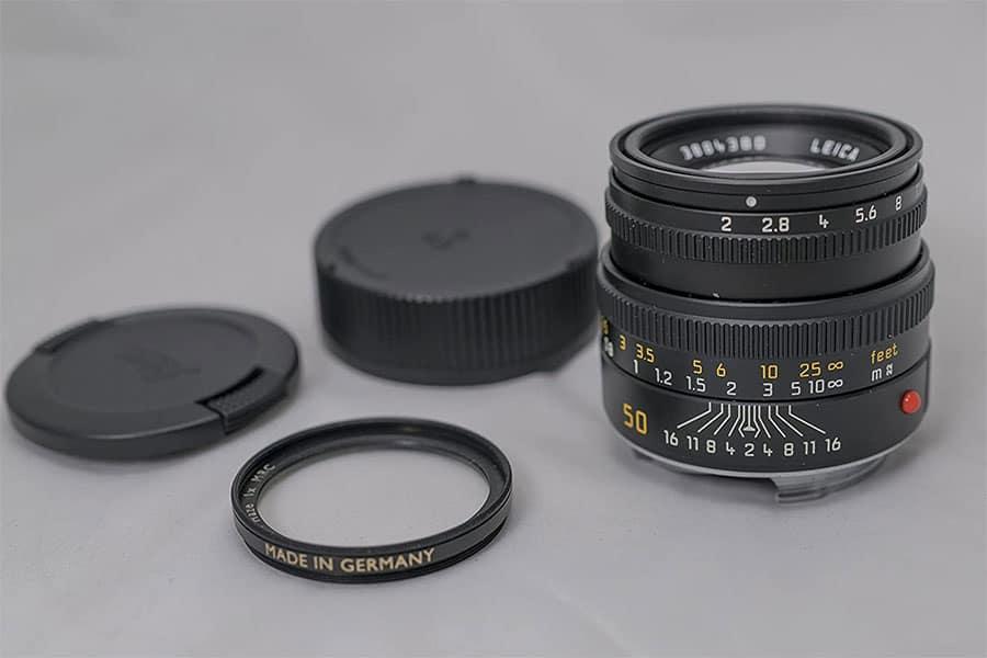 leica m 50mm summicron lens