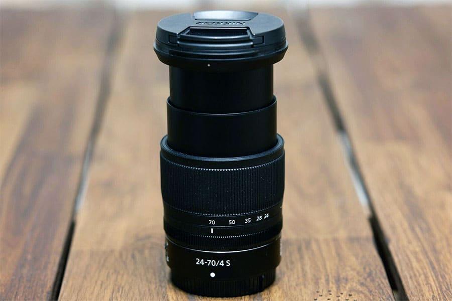 Nikon Z 24-70 Extended zoom lens