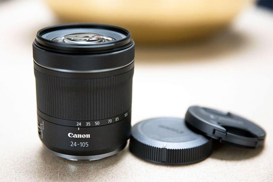 24-100mm f4-7.1 variable aperture zoom lens