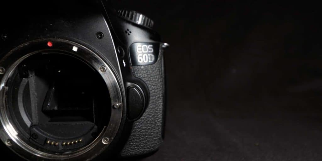 canon eos 60d without lens