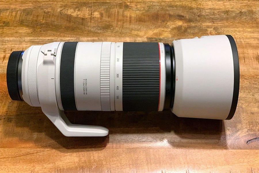 canon rf 100-500mm zoom telephoto lens