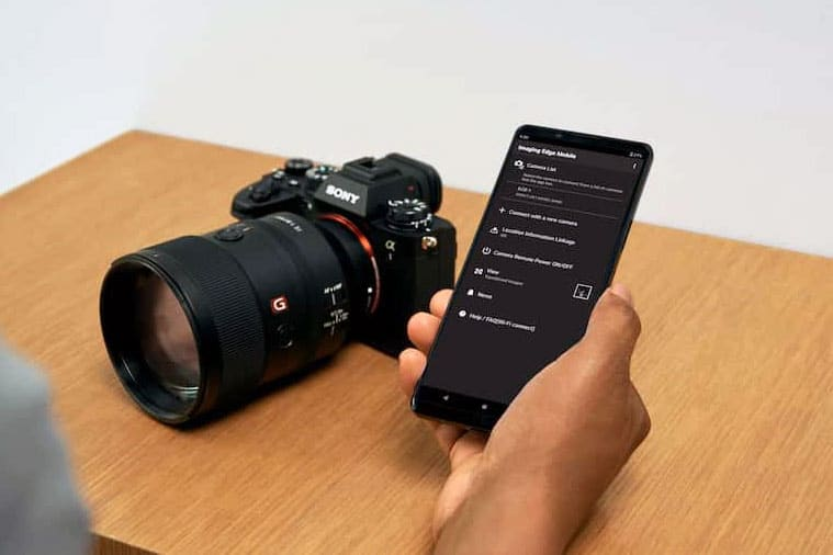 sony a1 with a g master lens