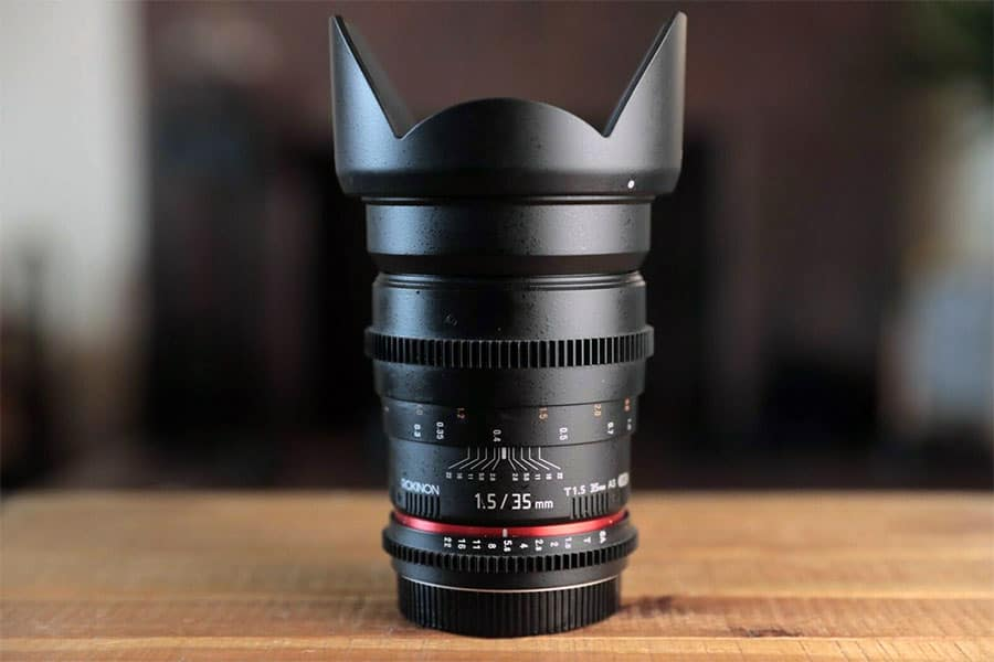 Rokinon 14mm T3.1 Cine DS Lens for Canon