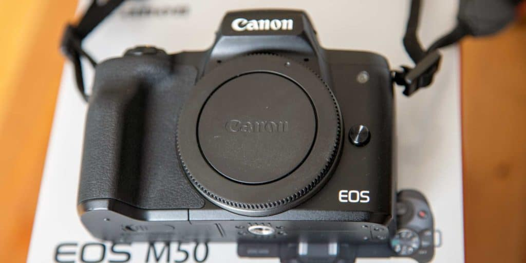 CANON EOS M50 without lens
