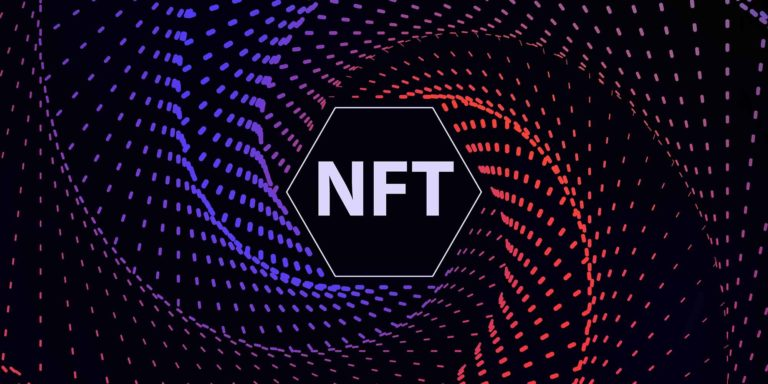 spiral with the acronym nft inside