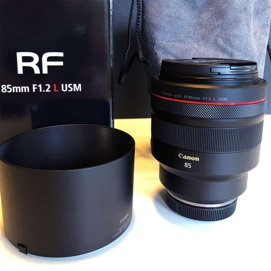85mm f1.2 RF Mount lens